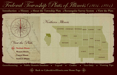 ilsos federal township plats illinois website
