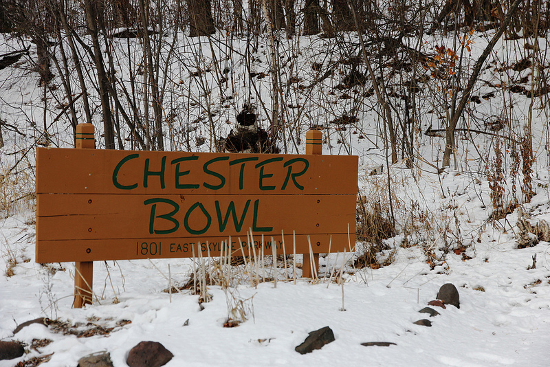 Chester Bowl, Duluth, MN sign